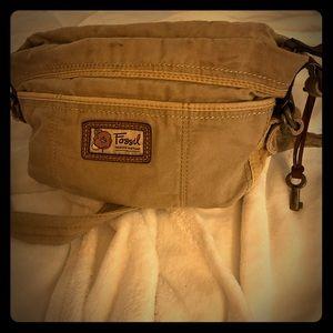 Fossil khaki medium size bag